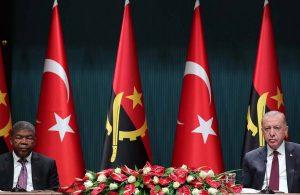 Erdoğan: Türkiye, terörle mücadelede Angola'nın yanında yer alacaktır
