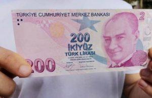 200 lira ve 10 lira banknotlar için düzenleme