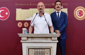 Tamince'nin otelinde şüpheli şekilde ölen Burak Oğraş'ın babası Meclis'te: Adalet istiyorum