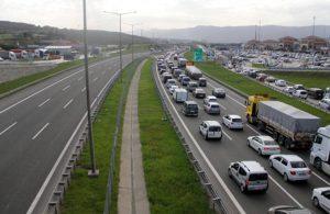 TEM'in İstanbul yönü 1 aylığına trafiğe kapatıldı!