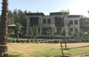 Erdoğan'ın Yazlık Saray'ının fotoğrafları ortaya çıktı
