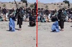 Afgan bir kadın, telefonda bir erkekle konuştuğu için kırbaçlandı