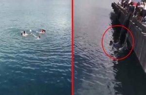 Nişanlı çift ayrılık kararının ardından denize atladı