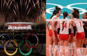 Tokyo Olimpiyatları'nda günün programı: Türkiye'den 5 milli sporcu ile 1 takım mücadele verecek