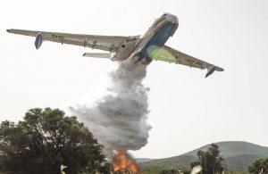 Manavgat yangınına bakanlıktan 2 Rusya'dan 3 uçak!
