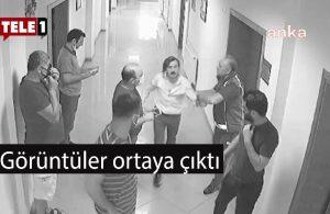 Belediye binasında yolsuzluğu yazan gazeteciyi odunla dövenler etekle gelmişler