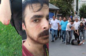 Kasımpaşa'da gazetecilere sopalı saldırı