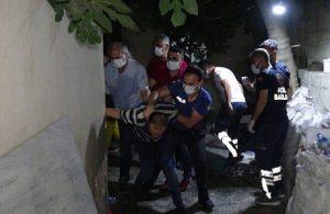 Suriyeli bir kişi ailesinden 7 kişiyi rehin aldı