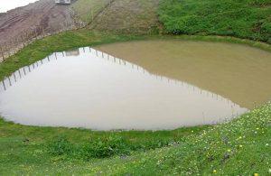 Buzul Çağı'ndan kalma Dipsiz Göl, 'çamur göl' oldu