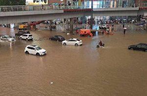 Çin'de 60 yılın en fazla yağışı: 33 kişi hayatını kaybetti