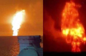 Hazar Denizi'ndeki şiddetli patlamanın nedeni açıklandı