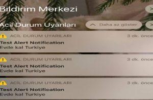 iPhone kullanıcılarına gelen 'Evde Kal Türkiye' uyarısı nedir, nasıl kapatılır?