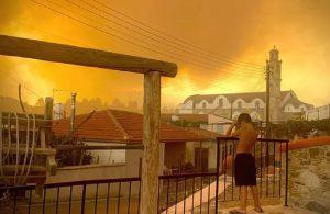 Kıbrıs tarihinin en büyük yangını: Sabotaj şüphesi var