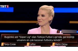 TRT 1'de yayınlanan programda skandal hata