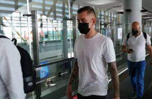 Galatasaray'ın yeni transferi sözleşme için İstanbul'a geldi