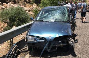 HDP'li eski vekil aracıyla kaza yaptı: 7 yaralı