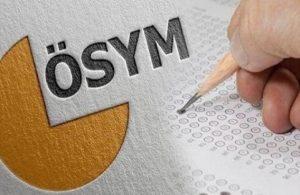 ÖSYM'den 'kitapçık' açıklaması: Aday gözaltına alındı
