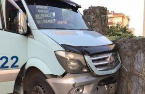 Minibüs şoförü, yan koltuğunda oturan kişi tarafından vuruldu!