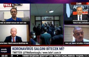 Mehmet Ceyhan Türkiye'deki gerçek aşılanma oranını TELE1'de açıkladı