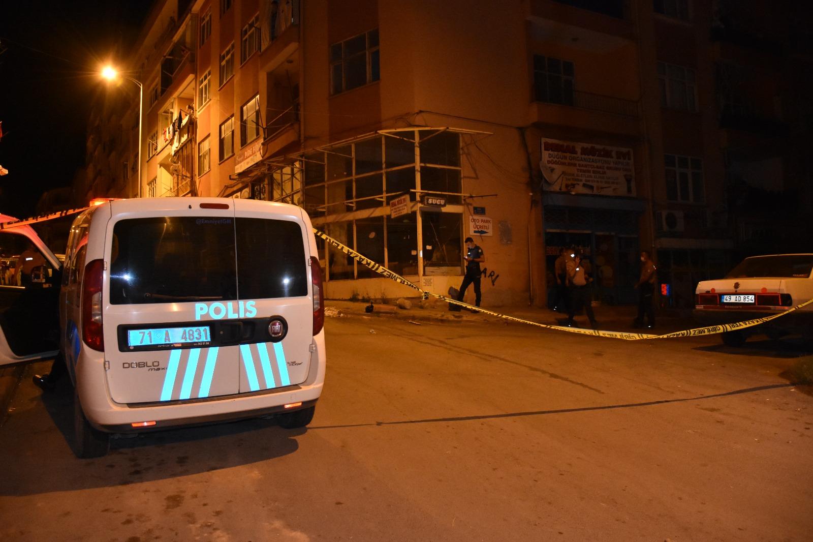 Kırıkkale'de iki grup arasında silahlı kavga: 2 yaralı