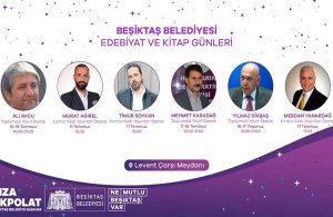 Beşiktaş'ta Edebiyat ve Kitap Günleri başlıyor