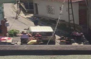 Beyoğlu'nda dehşet anları: Dünürlerine kurşun yağdırdığı anlar kamerada