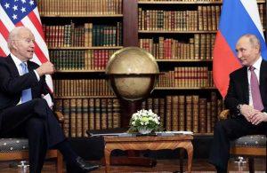 Biden: Putin'le görüşmede özgür dünyanın lideri olduğumu hissettim