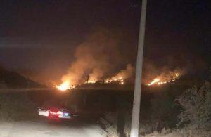 Bodrum'da endişe yaratan yangın kontrol altına alındı