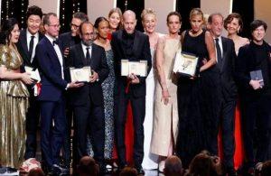 Cannes'da ödüller sahiplerini buldu, jüri başkanı pot kırdı