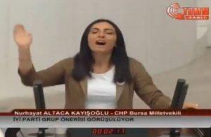 CHP'li vekil TBMM kürsüsünde 'Dadaloğlu' türküsünü söyledi