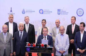 CHP'li başkanlardan Erdoğan'a çağrı: Toplantı yapalım