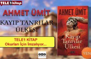 Ahmet Ümit son kitabını TELE1 izleyicileri için imzalayacak