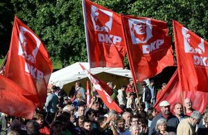Alman Komünist Partisi'ne seçim engeli