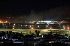 Erbil Havaalanı'na SİHA'lı saldırı