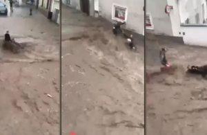 Sele kapılan Türk çifti Avusturyalı komşuları kurtardı