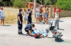 Motosiklet kullanan eski sevgilisini seyir halindeyken öldürdü