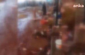AKP'li belediye su ve temizlik hizmeti sunmadı, her yer çöp ve kanla kaplandı
