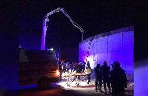 Biyogaz tesisi inşaatında göçük: 3 yaralı