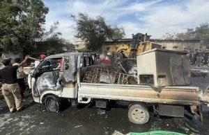 Bağdat'ta patlama! Çok sayıda ölü ve yaralı var