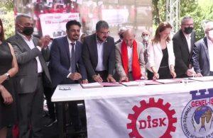İzmir Büyükşehir'de toplu sözleşme: En düşük maaş 7 bin 134 lira