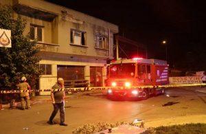İzmir'de fırında patlama