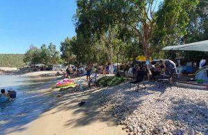Bayramda kamp alanlarına akın edildi: Çadır kuracak yer kalmadı!