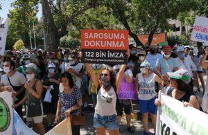 Binlerce yurttaş haykırdı: Saros'uma dokunma