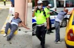 Sivil polise yakalanan korsan taksici gözyaşlarına boğuldu: Yaktın beni