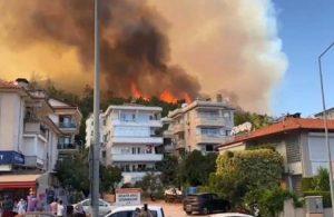 Yangından etkilenen bölgeler afet bölgesi ilan edildi