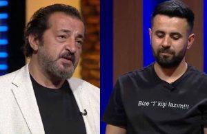 MasterChef'te Mehmet Şef yarışmacının gözünün yaşına bakmadı