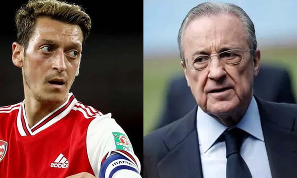 Florentino Perez'in Mesut Özil'in eski ilişkisine dair ses kayıtları ortaya çıktı