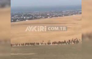 Mülteci akını sürüyor! Van'dan yeni görüntüler