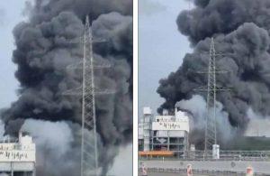 Almanya'da patlama: Dışarı çıkmayın çağrısı yapıldı