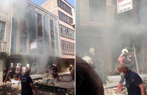 Ankara'da bir imalathanede patlama